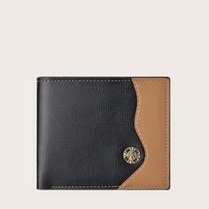 Мужской двухцветный складной кошелек Shein