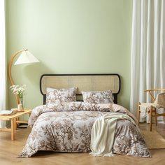 Со цветочками Наборы пододеяльников Комплект постельного белья Shein
