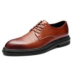 Мужские модельные туфли на шнурке Shein