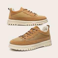 Мужские сетчатые туфли на шнурке Shein