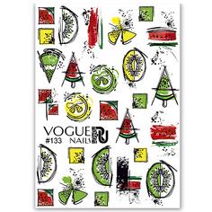 Наклейка для ногтей Vogue Nails Слайдер №133