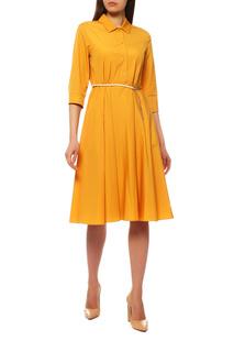 Платье женское Max Mara 62211091024 желтое 40