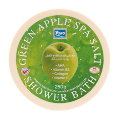 Соль для ванны YOKO SPA Green Apple Salt Shower Bath 250 гр
