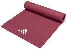Adidas Коврик для йоги Adidas ADYG-10100MR цвет загадочно-красный