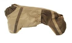 Комбинезон для собак ТУЗИК Такса карликовая, теплый, женский, в ассортименте, 31см