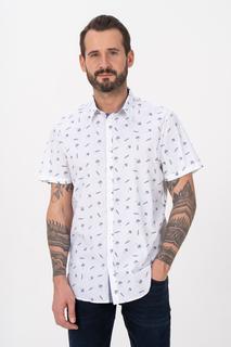 Рубашка мужская Guess M1GH21W8BX1PIU0 белая 52 RU