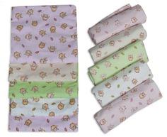 Пеленки для новорожденных Чудо-Чадо подарочный набор для девочки 10 штук