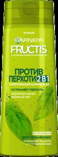 Шампунь для волос Garnier Fructis против перхоти с зеленым чаем и пиритионом цинка 250 мл