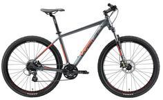 Велосипед Welt Rockfall 2.0 Sst 27 2021 Matt Grey/Red (Us:m)