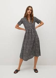 Платье с принтованными цветами - Fibi-i Mango