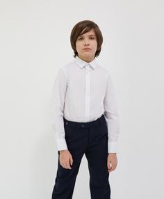 Сорочка белая с длинным рукавом Gulliver