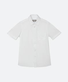 Сорочка белая с коротким рукавом Gulliver
