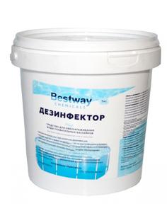 Средство дезинфекции Bestway Chemicals Дезинфектор Гранулированный Быстрый стабилизированный хлор 1kg DB1GBW