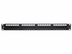 Коммутационная панель Патч-панель 5bites PPU65-21 UTP / 6CAT / 24P / Krone / 110 / Dual Idc / 1U / 19