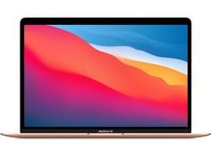 Ноутбук APPLE MacBook Air 13 (2020) Gold MGNE3RU/A Выгодный набор + серт. 200Р!!! (Apple M1/8192Mb/512Gb SSD/Wi-Fi/Bluetooth/Cam/13.3/2560x1600/Mac OS)