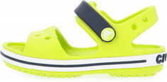 Сандалии для мальчиков Crocs Crocband Sandal Kids, размер 28