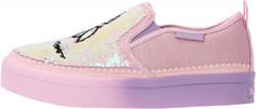 Слипоны для девочек Skechers Twi-Lites 2.0, размер 34