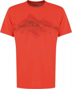 Футболка мужская Jack Wolfskin Crosstrail Graphic, размер 46-48