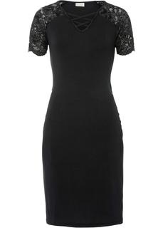 Платье со шнуровкой Bonprix