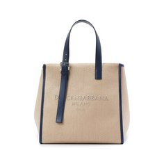 Текстильная сумка-шопер Dolce & Gabbana