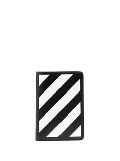 Off-White обложка для паспорта с логотипом
