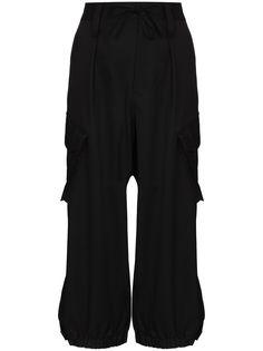 Y-3 брюки карго с завышенной талией