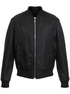 Balmain двусторонняя куртка-бомбер с тиснением