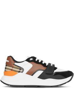 Burberry кроссовки с отделкой Vintage Check