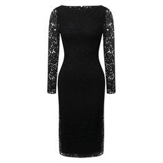 Платье из вискозы и хлопка Valentino