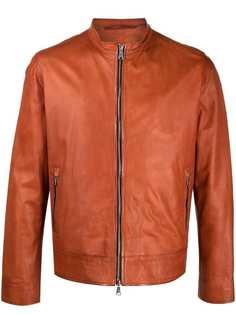 Suprema куртка-бомбер гладкой фактуры
