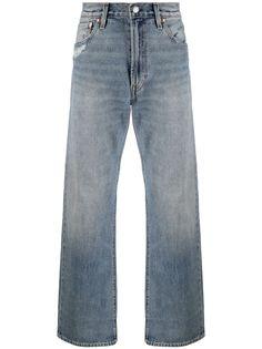 Levis широкие джинсы с эффектом потертости Levis®