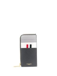 Thom Browne кошелек с круговой молнией и вставками