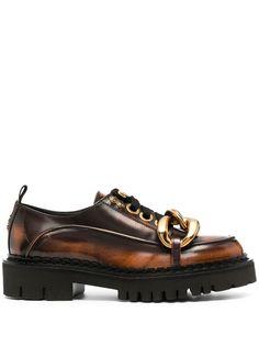 Nº21 туфли дерби с массивными цепочками