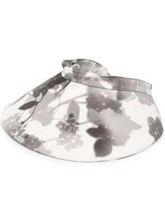 Fendi шляпа с цветочным принтом
