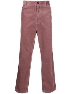 Carhartt WIP вельветовые брюки прямого кроя