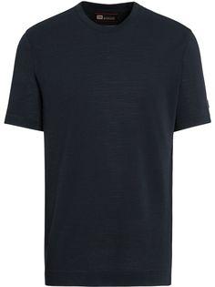 Z Zegna трикотажная футболка с короткими рукавами