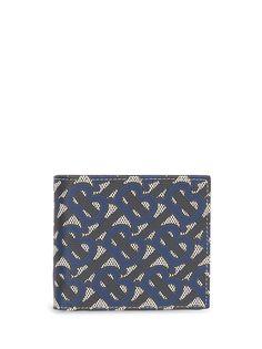 Burberry бумажник с монограммой