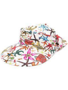 Versace кепка с принтом