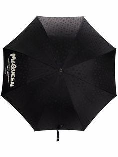 Alexander McQueen зонт с декором Skull