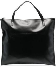 Jil Sander сумка-тоут с тисненым логотипом