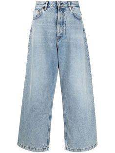 Acne Studios широкие джинсы