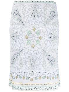 Emilio Pucci юбка-карандаш с принтом Conchiglie