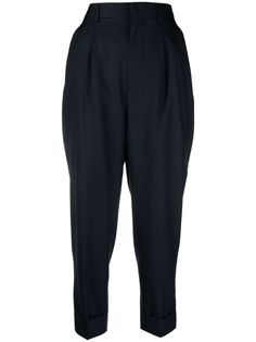 AMI Paris зауженные брюки с завышенной талией