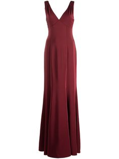 Marchesa Notte Bridesmaids вечернее платье Forli с V-образным вырезом