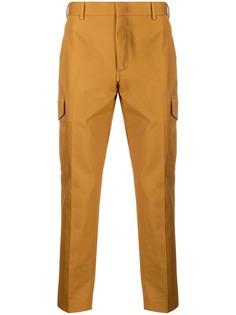 Pt01 прямые брюки карго