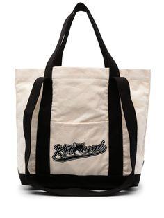 Maison Kitsuné сумка-тоут с логотипом