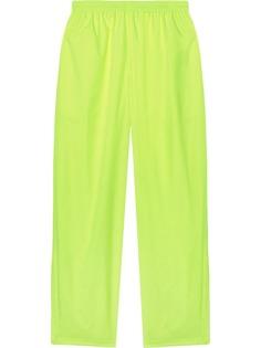 Balenciaga брюки широкого кроя с эластичным поясом