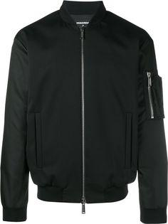 Dsquared2 куртка-бомбер с карманом на рукаве