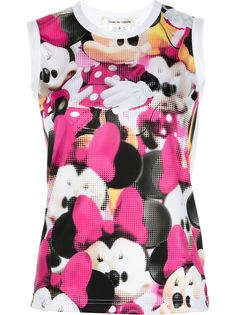 Comme Des Garçons топ без рукавов с принтом Minnie Mouse