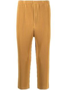 Homme Plissé Issey Miyake укороченные плиссированные брюки